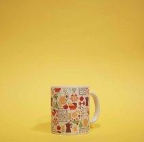 Diseño de tazas. A Design, Illustration, Graphic Design, and Product Design project by Andrea Candamio Menéndez         - 08.12.2015