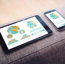 Diseño de la página web y app del juego solidario BARRACAS. Un proyecto de Diseño gráfico de Isa Romano         - 20.07.2015
