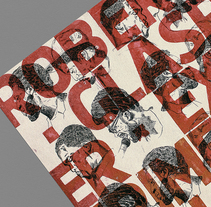 Robert Glasper  Poster - Letterpress. A Illustration, Br, ing, Identit, Crafts, Editorial Design, Graphic Design, Painting, T, and pograph project by Manel Portomeñe Marqués - 09-12-2015