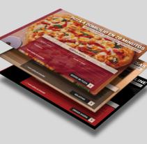 Diseño de template Landing Page para clientes de QDQ media.. Un proyecto de Diseño y Diseño Web de Alfredo Moya - Domingo, 20 de diciembre de 2015 00:00:00 +0100