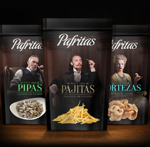 Pafritas Real. A Design, Art Direction, Br, ing, Identit, and Packaging project by Sergio Daniel García         - 20.12.2015