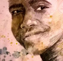 Ilustraciones Africa. Um projeto de Ilustração e Artes plásticas de Esther Martínez Recuero         - 22.12.2015