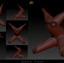 Escultura digital. Un proyecto de Diseño, Ilustración, 3D, Diseño de producto y Diseño de juguetes de Alexis Fisch         - 26.12.2015