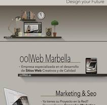 Folleto oolWeb. A UI / UX, Marketing, Web Design, and Web Development project by Antonio M. López López - 27-08-2014