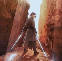 The Jedi Path. Un proyecto de Ilustración de Jose Barrero - 02-01-2016