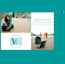 Personal Website. A Design, and Marketing project by Maria Ramos         - 17.01.2016