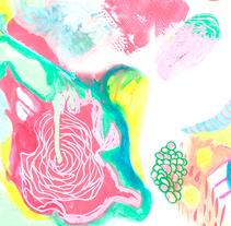Diseño textil - Ilustración. Un proyecto de Ilustración, Diseño de vestuario y Diseño gráfico de Amaia Bloom - 30-11-2015