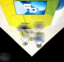 Stand Enel / Endesa. Um projeto de Arquitetura e Arquitetura de interiores de Nicolas Poitou - 23-01-2016