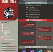 CV Jonathan Martínez 2016. A Design, Illustration, Motion Graphics, Film, Video, TV, Animation, Br, ing, Identit, T, pograph, Collage, and Comic project by Jonathan Martínez - 26-01-2016