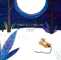 El niño al que se le murió el amigo. Um projeto de Ilustração e Design editorial de Esther Bernal López - 27-01-2016