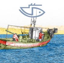 Campaña informativa sobre la protección social en el sector Marítimo-Pesquero. Un proyecto de Dirección de arte de Kiko  Fraile - 10-12-2015