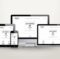 TENTO -  Rediseño de Marca. Um projeto de Design, Br, ing e Identidade, Design gráfico e Web design de Isabela Razetti - 18-12-2015