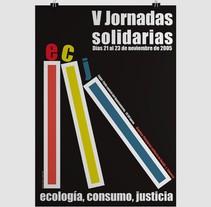 V Jornadas Solidarias. Un proyecto de Publicidad y Diseño gráfico de Javier Leal - 31-01-2016