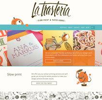 La Trastería. Un proyecto de Diseño Web y Desarrollo Web de Marta Armada - 01-02-2016