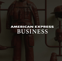 American Express Business. A 3D, Art Direction, Illustration, and Advertising project by zigor samaniego - 02.08.2016