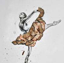 Danzante.. A Illustration project by Arqui Salcedo         - 07.02.2016
