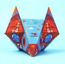 OUT FOX. Un proyecto de Diseño de juguetes e Ilustración de Jhonny  Núñez - Viernes, 12 de febrero de 2016 00:00:00 +0100