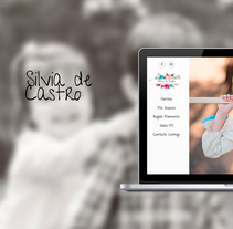 Diseño web: Silvia de Castro. A Graphic Design, Information Architecture, and Web Development project by Erlantz Aristegi         - 11.02.2013