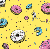 Donuts Odyssey. A Illustration project by Lorenzo Pierro         - 19.12.2015