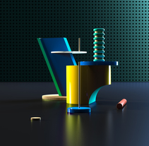 Balance. A 3D, and Art Direction project by Pleid Studio  - Feb 17 2016 12:00 AM