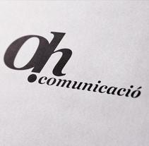 Imagotipo para Oh Comunicació. Empresa de comunicación integral.. A Graphic Design project by Uri          - 06.06.2014