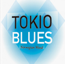 Portada Tokio Blues. A Design project by lizethelizaldez - 18-02-2015