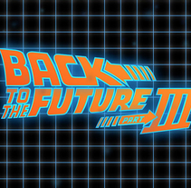 Motion - Back To The Future III. A Motion Graphics, Animation, and Graphic Design project by Daniel Castro Tirador         - 15.03.2015