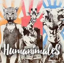 Ilustración para music lovers: Humanimales. A Design, Illustration, Advertising, Character Design, Fine Art, Graphic Design, and Calligraph project by Sergio Kian         - 22.02.2016