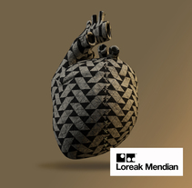 cinema 4D_Loreak Mendian creativity. A 3D, and Graphic Design project by Oihana Barbero Moral - 20-02-2016