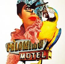 Palomino Motel. A Collage project by Paula Brasaanï         - 26.02.2016