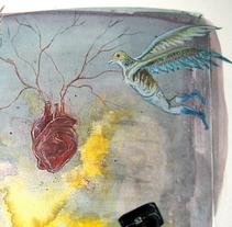 Collages, pinturas y dibujos, 20162017-en adelante . Un proyecto de Diseño, Ilustración, Dirección de arte, Diseño de personajes, Bellas Artes, Pintura, Collage y Arte urbano de Rh  Fernando  Halcón - 06-10-2017