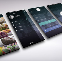 Restaurant App Concept by LVÀ . A Design, UI / UX, and Graphic Design project by Alicia  Córdoba Muñoz - 13-02-2016
