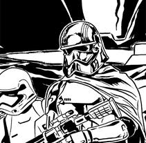 Páginas entintadas. . Un proyecto de Ilustración y Comic de Adrián Suárez Crossa - 03-03-2016