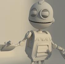 Clank, robot. A 3D project by Carla González García         - 03.12.2014