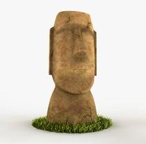Moai 3D. Um projeto de 3D de Anselmo Resa Rodríguez         - 05.03.2016