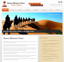"Diseño Web ""Desert Morocco Tours"". A Web Design, and Web Development project by DCI Punto y Coma         - 01.10.2015"
