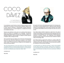 Coco Dávez para el Infiltrado, por Alba Deliz. A Illustration, Photograph, and Editorial Design project by Alba Deliz         - 08.03.2016