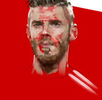 David DeGea. A Illustration, and Art Direction project by Ismael Alabado Rodriguez - Mar 10 2016 12:00 AM