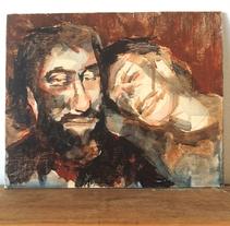Homenaje a Charles y Marina Bukowski. Un proyecto de Ilustración, Bellas Artes y Pintura de Alejandro  Armas Vidal - 09-03-2016