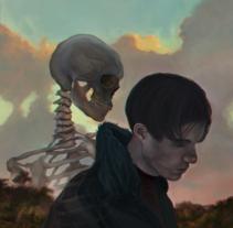 Una tarde siempre olvidándose. Un proyecto de Ilustración de Miguel Devia         - 13.03.2016