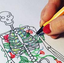 ¡a mano que no a maquina!. Un proyecto de Ilustración de Luisa Sirvent - Lunes, 14 de marzo de 2016 00:00:00 +0100