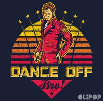 Dance Off Bro. Un proyecto de Ilustración y Diseño gráfico de Oliver Ibáñez Romero         - 13.03.2016