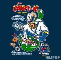 GroovyOs Cereals. Un proyecto de Ilustración y Diseño gráfico de Oliver Ibáñez Romero         - 13.03.2016
