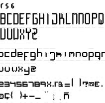creación tipografía octagonal. Um projeto de Design de Marcel Cabezas Valls         - 15.03.2016