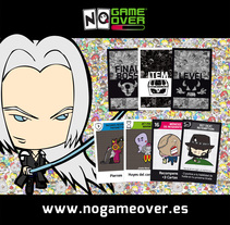 No Game Over. El juego de mesa que parece un videojuego.. A Design, Illustration, Animation, Br, ing, Identit, Character Design, Game Design, Graphic Design, and Web Design project by Valle Pacheco         - 15.03.2016