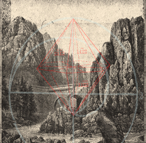 "Cartel ficticio realizado para la banda ""Downfall of Gaia"" siguiendo los pasos del maestro X.Forné. . Um projeto de Ilustração, Design gráfico e Serigrafia de Julio  Wolfe - 19-03-2016"