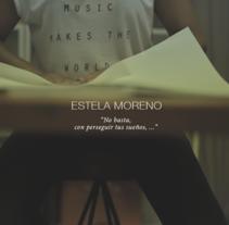 The creative process Cartoncita when generating pieces of origami. . A Video project by Estela Moreno - 03.22.2016