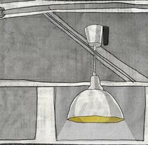 SANDWICH MIXTO / Cafetería y editorial de fanzines, Madrid. . Un proyecto de Ilustración, Bellas Artes y Pintura de Alejandro  Armas Vidal - 21-03-2016