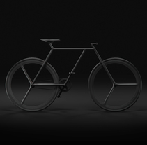 BAIK - diseño minimalista de bicicleta. A Design, 3D, Animation, Br, ing, Identit, Graphic Design, Industrial Design, Product Design, T, and pograph project by Ion Lucin - 20-03-2016