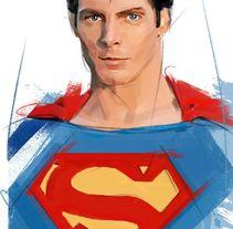el autentico superman. Un proyecto de Comic de Ismael Alabado Rodriguez - Lunes, 28 de marzo de 2016 00:00:00 +0200